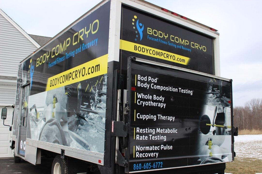Body Comp Cryo Truck Rear